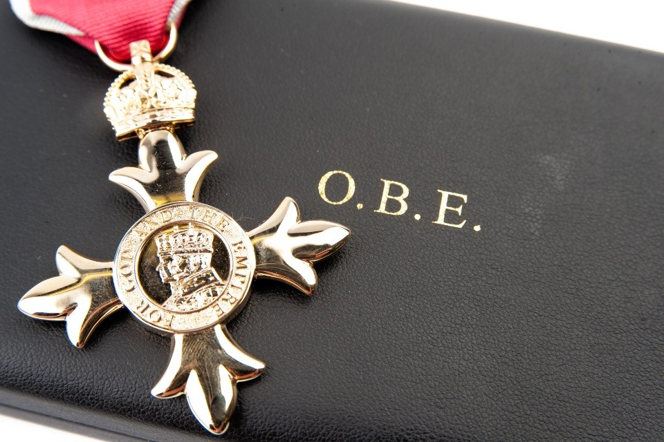 Chemical Weapons Expert Awarded OBE