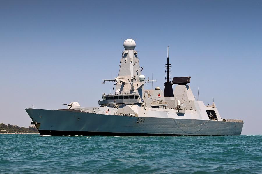 Destroyer In Ukraine For Major Exercise