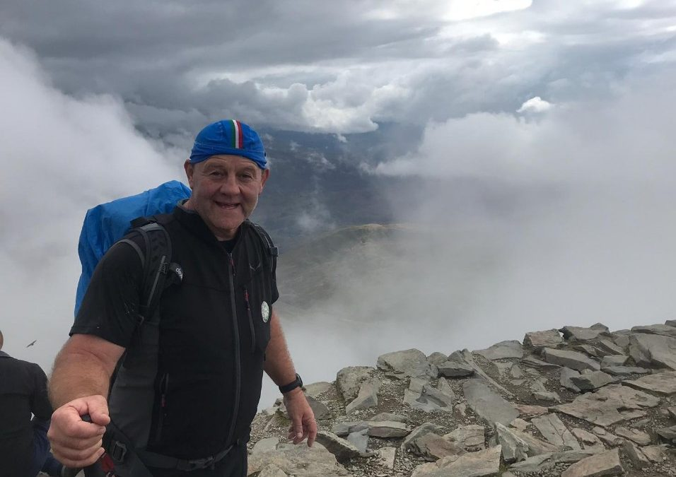 Snowdon Challenge In Aid Of Homeless Veterans