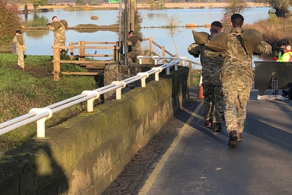 Troops Deployed To Support Flood Relief