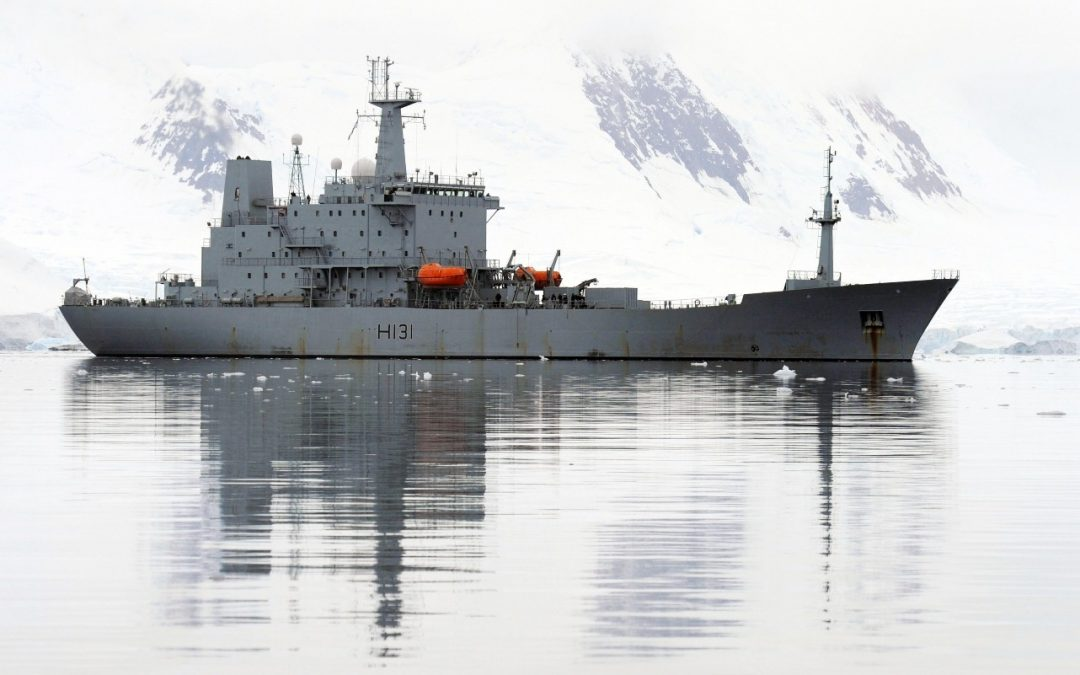 HMS Scott Provides Search Support
