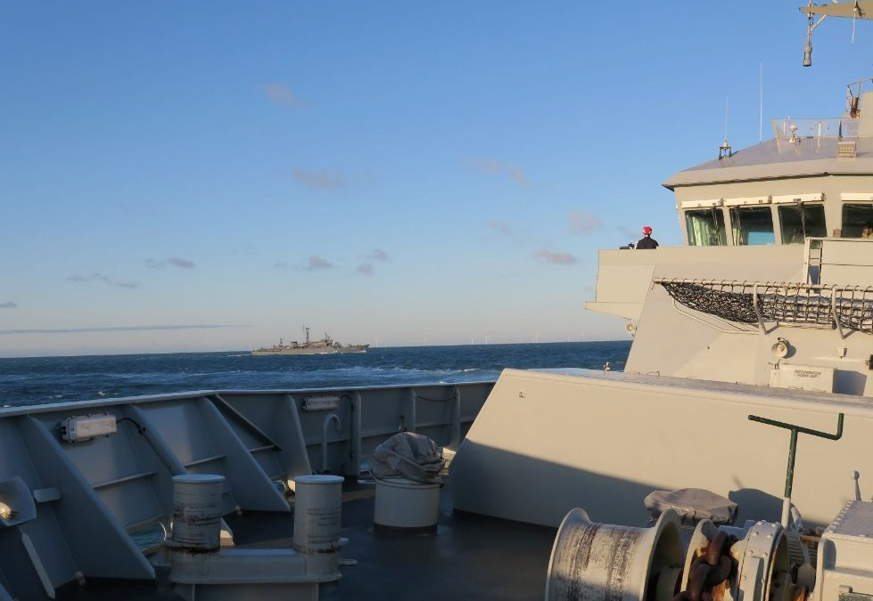 Royal Navy Monitors Russian Ship On Christmas Day