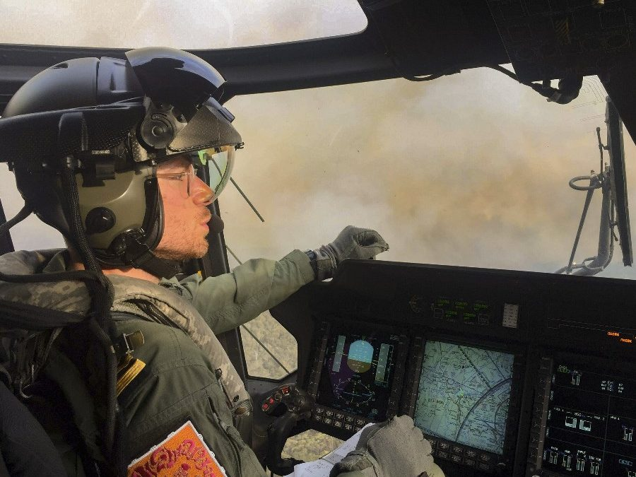 RN Pilot In Australian Bush Fires Evacuation