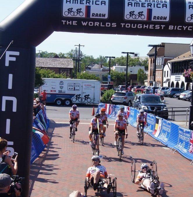 Blesma Team Prepares For 'Race Across America'