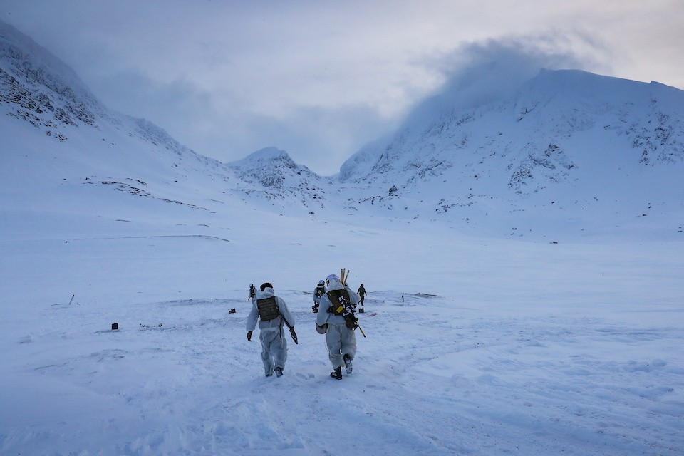 UK Personnel Deploy On Arctic Warfare Exercise