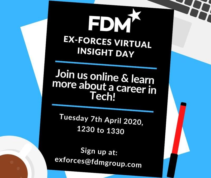 FDM Ex-Forces Virtual Insight Day