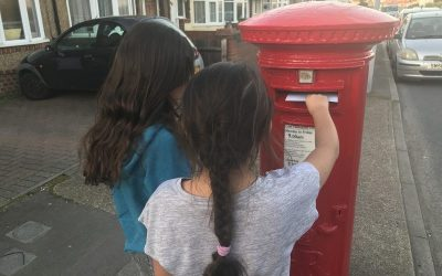 Appeal For Pupils' Letters, Cards, And Drawings