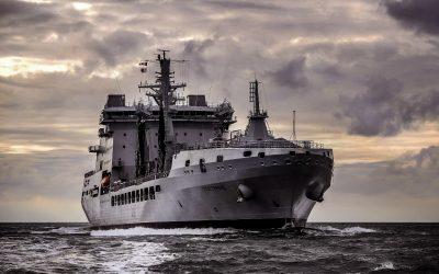 Royal Navy Shadows Seven Russian Warships