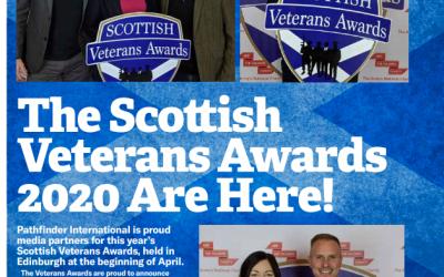 The Scottish Veterans Awards 2020/21 Takes Place In Edinburgh