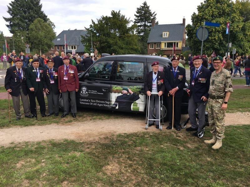 London Cabbies Looking After Veterans