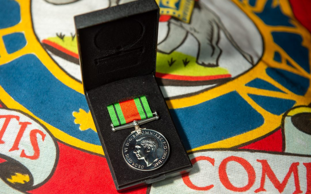 This Is The Medal Presented To Colonel Tom Moore
