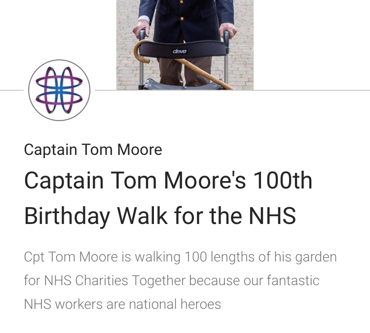 Captain Tom Moore Raises Over £5M For NHS Charities!