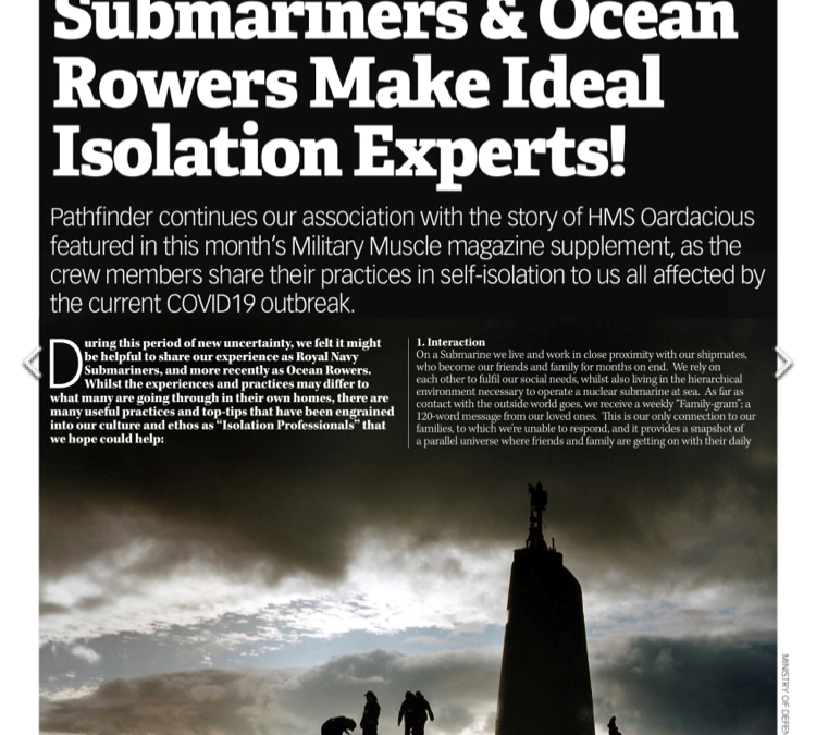Submariners & Ocean Rowers Make Ideal Isolation Experts!