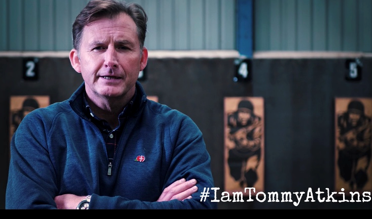 Watch! I Am Tommy Atkins! Campaign Videos With Simon Weston & Steve Heaney During Lockdown