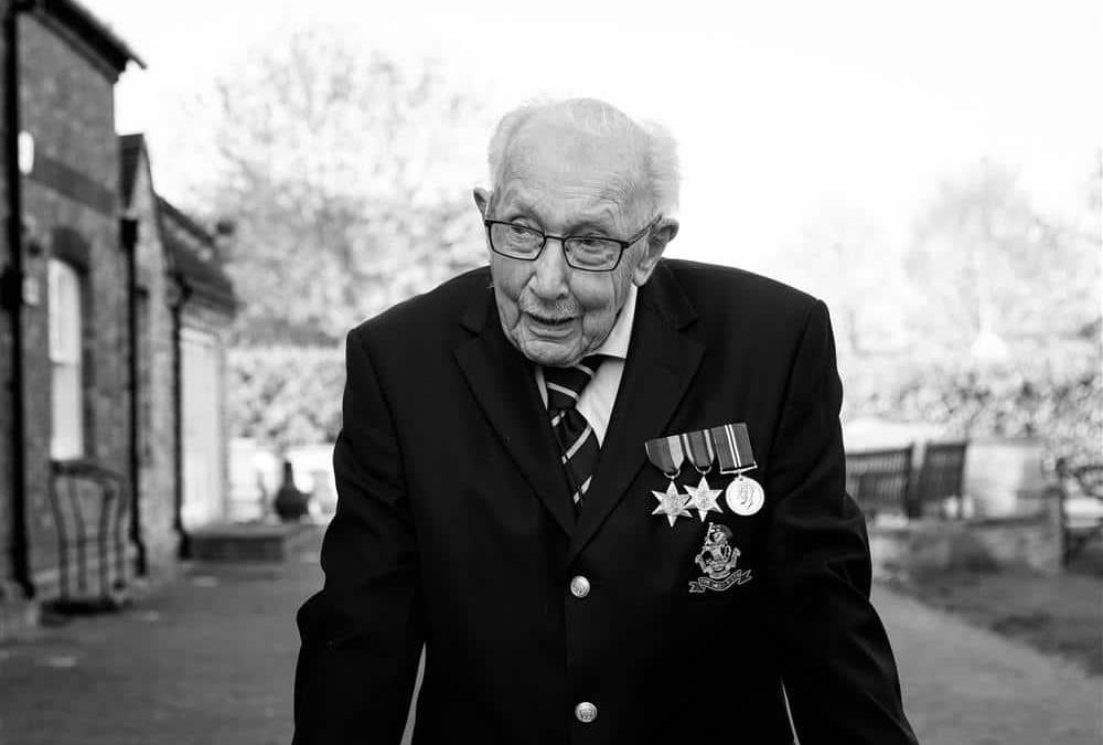 A Message From Captain Tom On The Eve Of His 100th Birthday