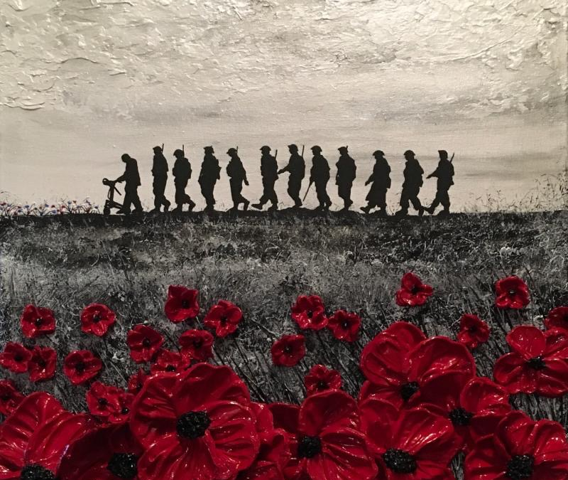 "Renowned Poppy Artist Releases ""Tomorrow Will Be A Good Day"" In Celebration Of Captain Tom Moore"