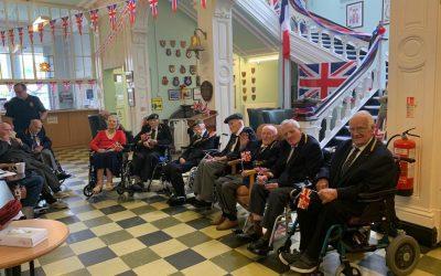 Broughton House Veterans Celebrate VE Day