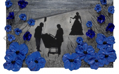 Tomorrow Will Be A Good Day With Poppy Artist Jacqueline Hurley