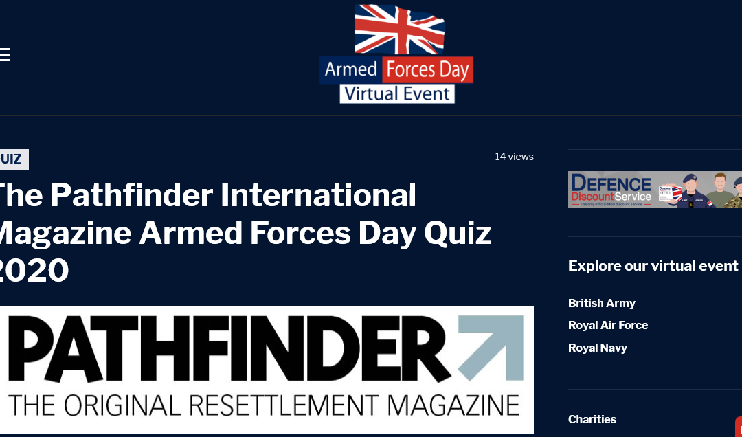 Take The Pathfinder International Magazine Armed Forces Day Quiz 2020 Here!