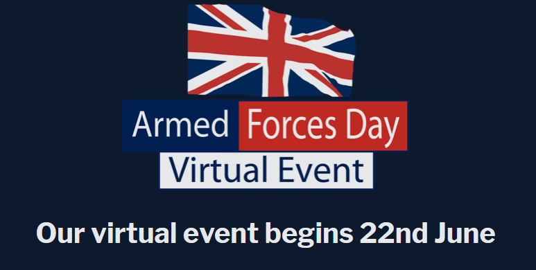 Join In With Armed Forces Week Online From Monday June 22