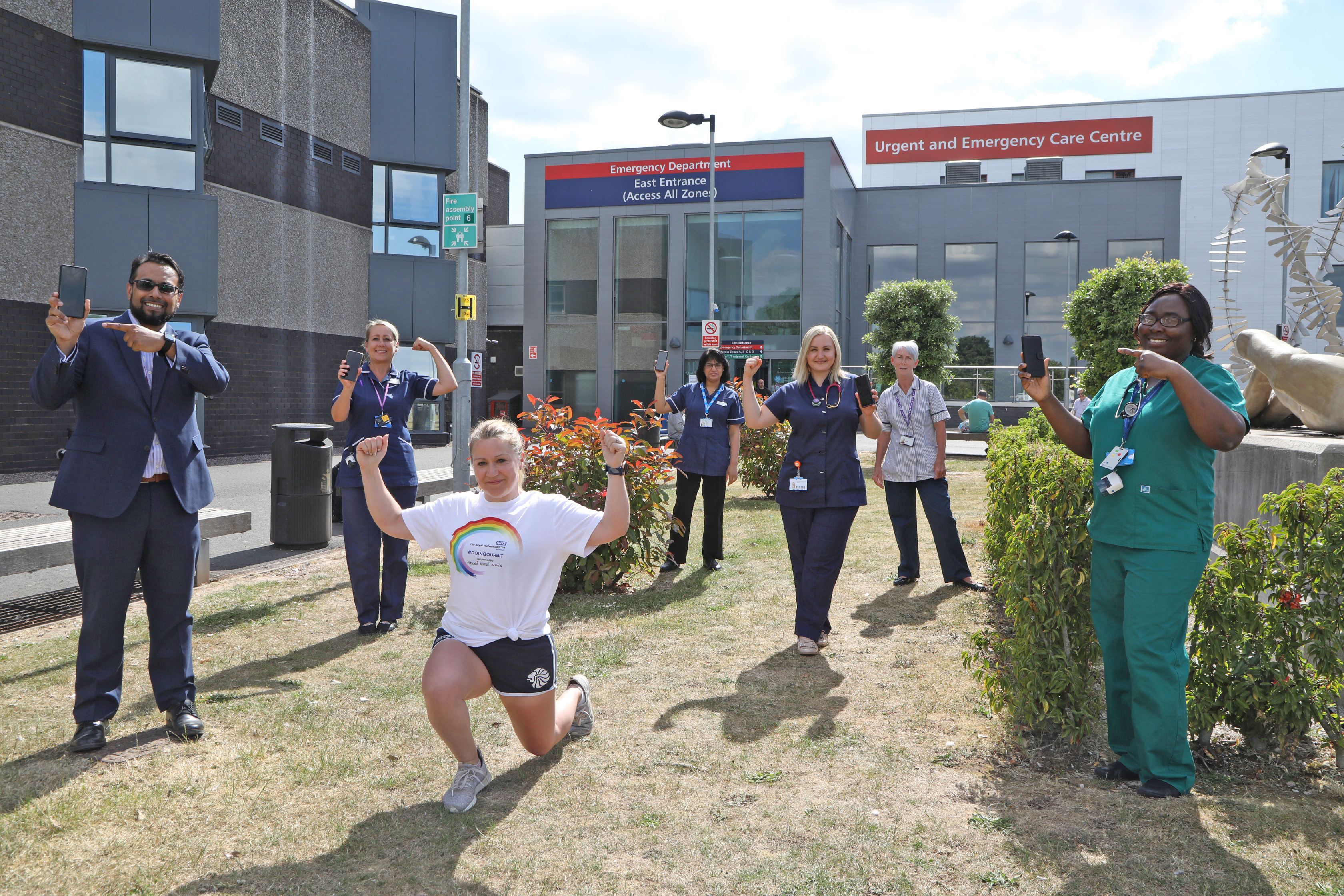 Fitness Education Business Co-creates Free Digital Fitness Platform For NHS Staff