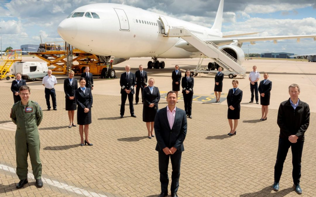 RAF Voyager Flight Becomes World Record Breaker