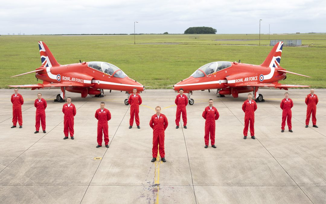 Red Arrows Get Display Approval