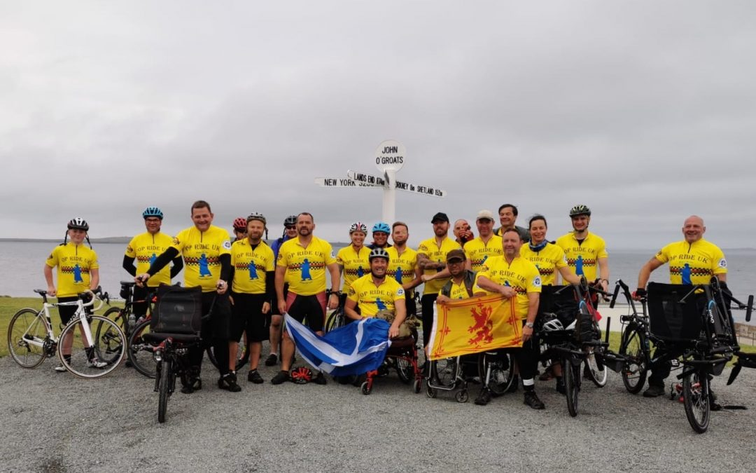 Amputee Veterans Take On 1,000-Mile Cycle Ride To Support Comrade With Motor Neurone Disease
