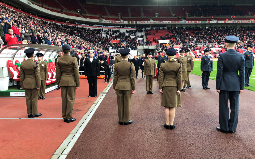Silver Award For Sunderland AFC Thanks To Support Provided To Military Community