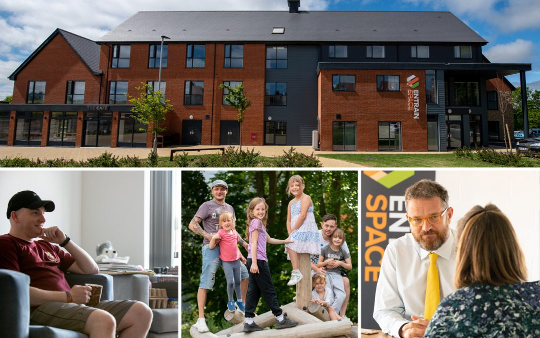Entrain Space Helps Veterans And Service-Leavers Navigate The 'New Normal' With Homes, Jobs And Training Support As Admissions Restart