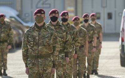 Paratroopers Presented With Afghanistan Medals