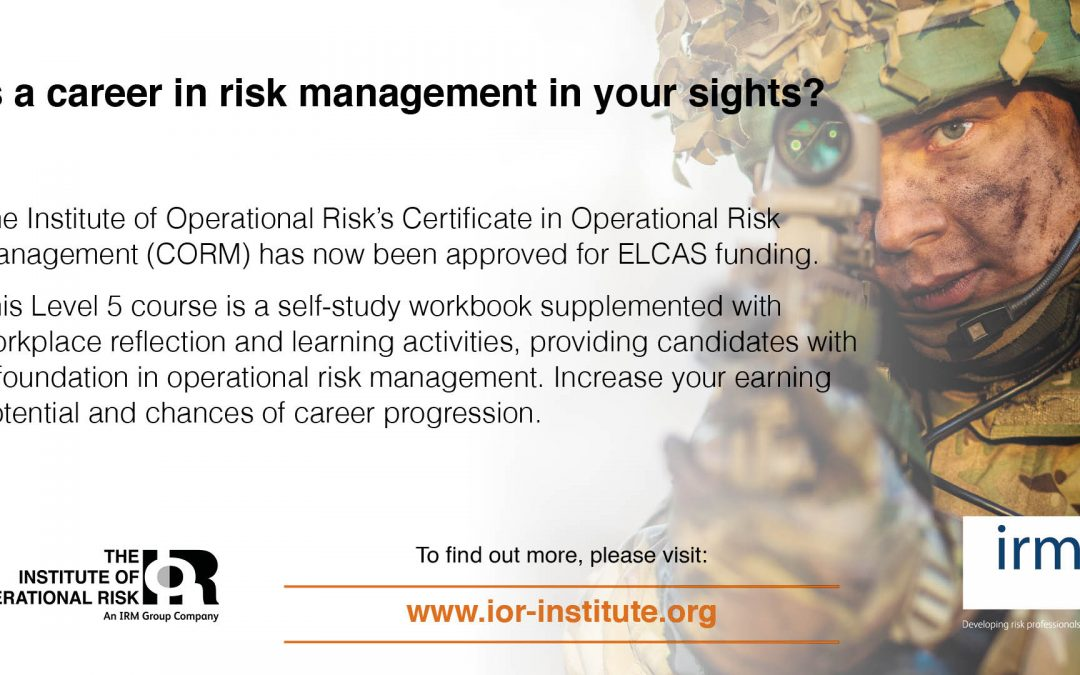 Risk Management Needs You: Is A Career In Risk In Your Sights?
