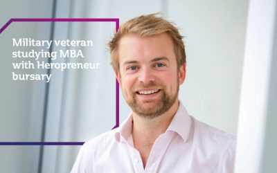 Military Veteran Studying MBA With Heropreneur Bursary