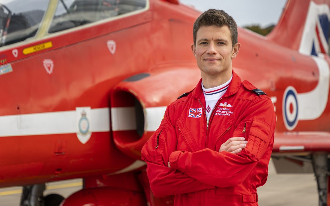 Red Arrows New Team Leader Aims To 'Inspire' With Dynamic Air Display