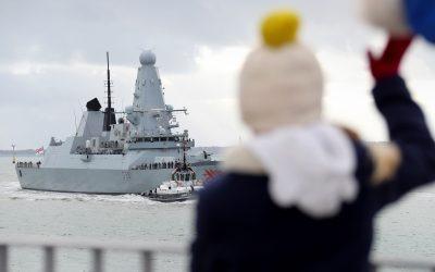 HMS Dragon Returns From Black Sea Deployment