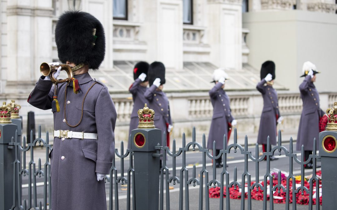 The Army Marks Cenotaph Centenary With A Sound From The Trenches