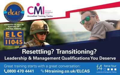 New CMI Training Partner To Deliver ELCAS Funded Leadership & Management Courses
