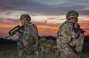 UK And France Able To Deploy A 10,000 Strong Joint Military Force In Response To Shared Threats