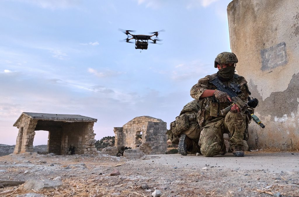 Royal Marines Train With Cutting-Edge Autonomous Technology In Cyprus