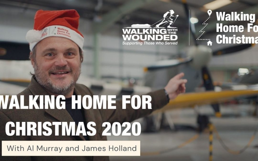 Comedian Al Murray And WW2 Historian James Holland Issue Plea To Battle Covid Mental Health Crisis With Best Of British Military Banter, As They Launch Walking Home For Christmas 2020