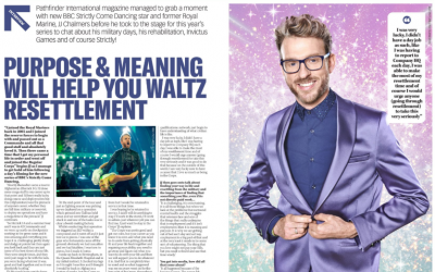 Strictly Come Dancing's JJ Chalmers: Purpose & Meaning Will Help You Waltz Resettlement