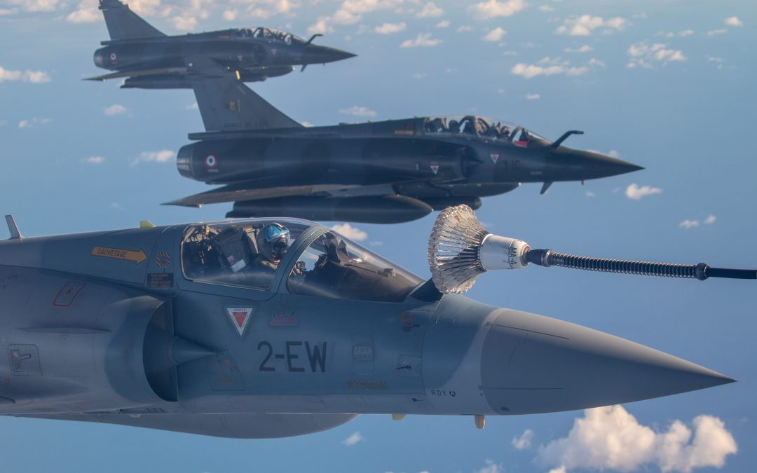 RAF Voyagers Support French Mission To Djibouti