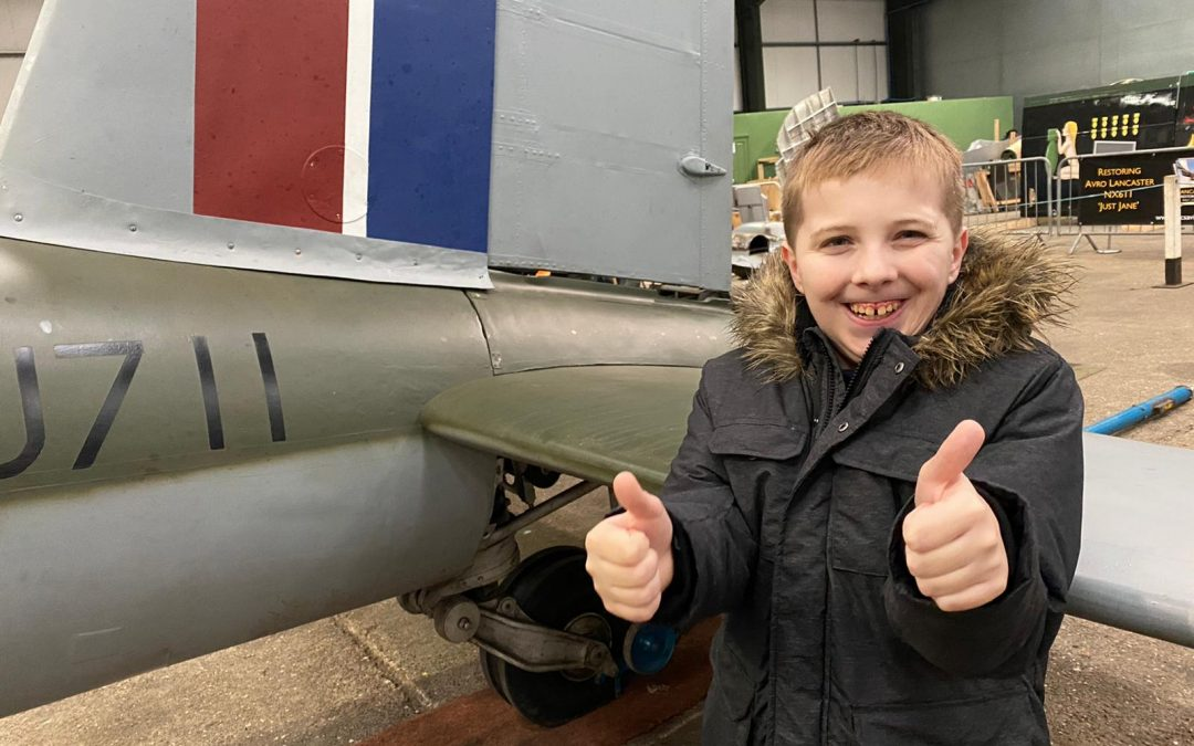 Local Boy Jack Draws Planes  For Armed Forces Charities