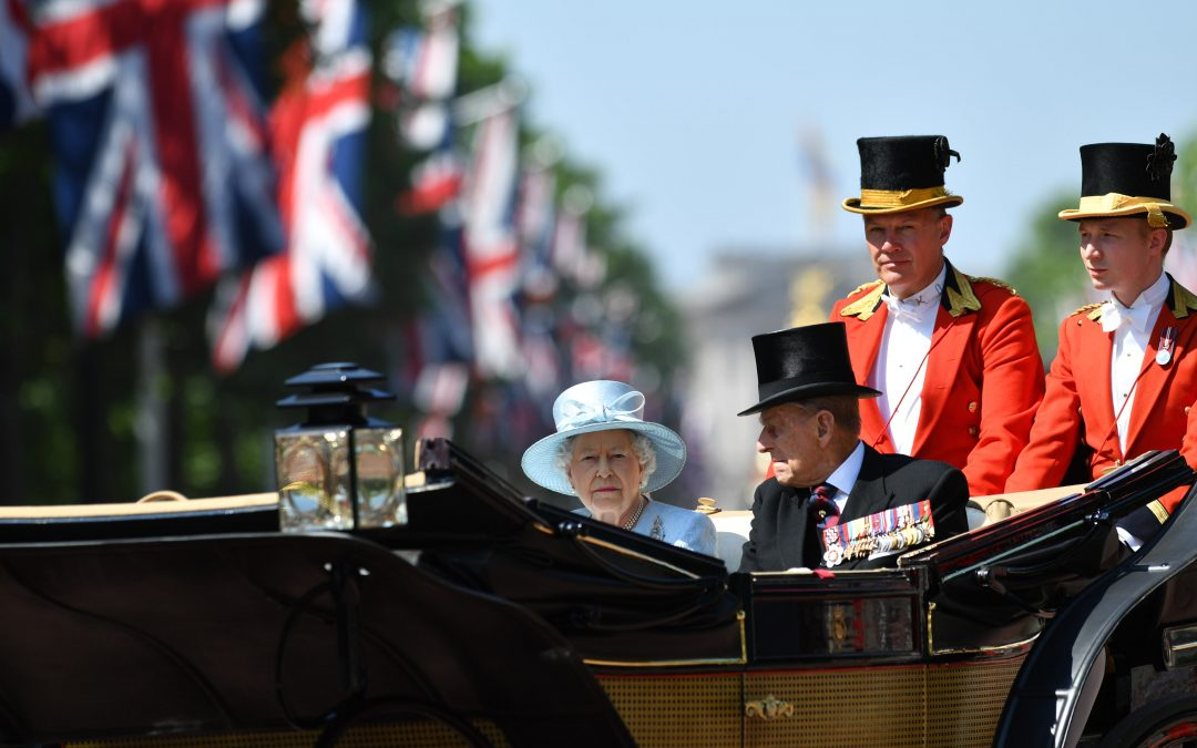 Historic Gun Salutes Mark The Passing Of HRH Prince Philip, Duke Of Edinburgh