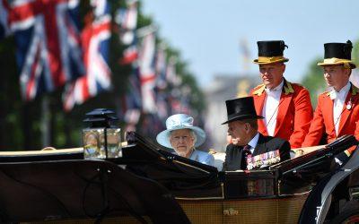 Historic Gun Salutes Mark The Passing Of HRH Prince Philip, Duke Of Edinburgh