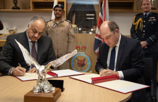 UK And Qatar Expand Defence Partnership