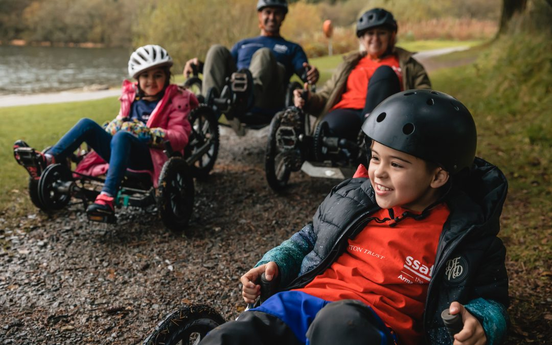 Sign Up To SSAFA'S Family Breaks Now,  Supported By Annington Trust