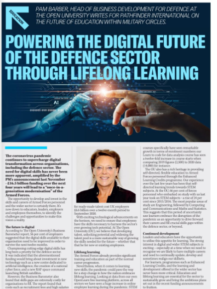 Powering The Digital Future Of The Defence Sector Through Lifelong Learning