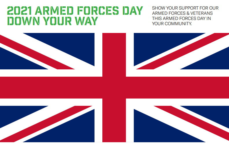 Pathfinder Launches Armed Forces Day, Down Your Way! For 2021