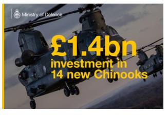 £1.4-Billion Modernised Chinook Fleet